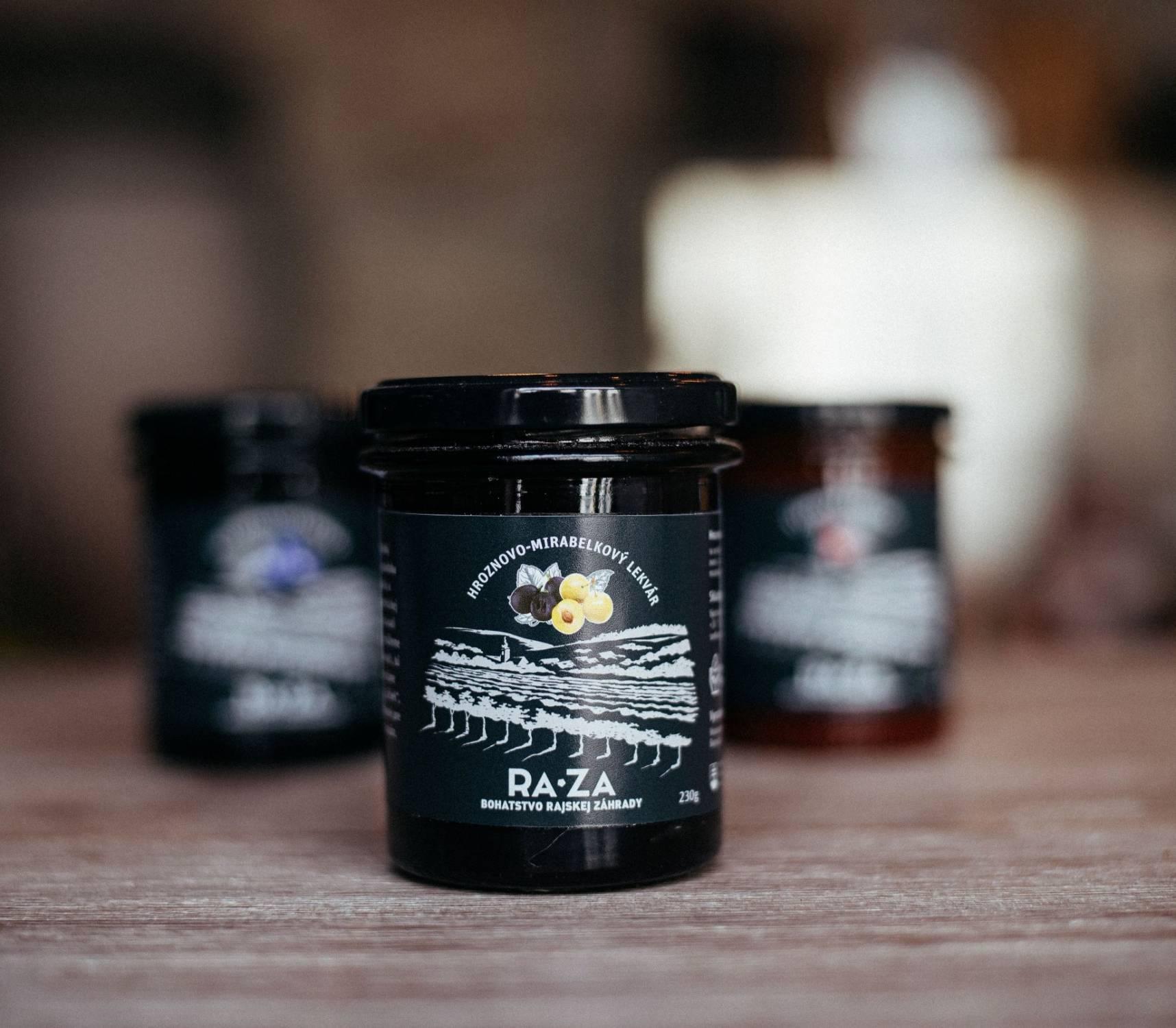 Hrozno-mirabelkový lekvár - RAjská ZÁhrada
